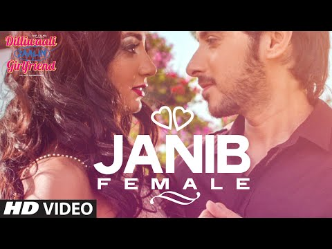 Janib (Female)' Video Song | Dilliwaali Zaalim Girlfriend | Sunidhi Chauhan | Divyendu Sharma