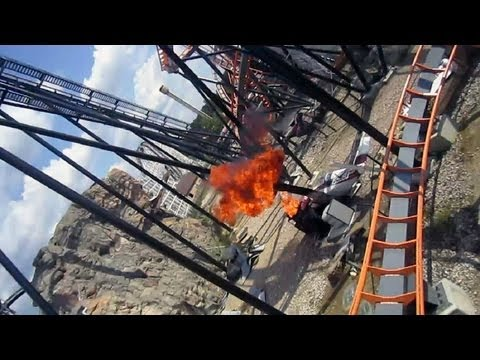This is B&M's first standup coaster & has been in operation since 1990 (when it was Iron Wolf at Six Flags Great America), but could it really survive the Ap...