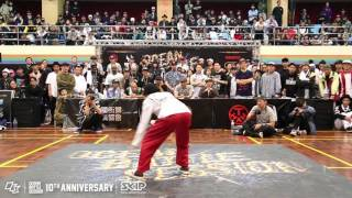 Popping Semifinal-1 Pop Pop Joe vs Ringo Winbee | 160229 OBS Vol.10 Day2