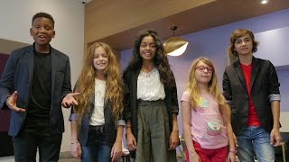 Interview inédite des Kids United, messagers de l'UNICEF !