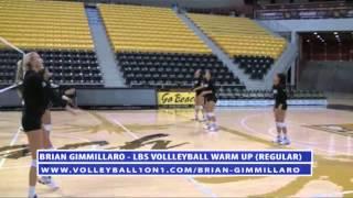 Brian Gimmillaro Full Volleyball Warm Up Drill - Regular Version