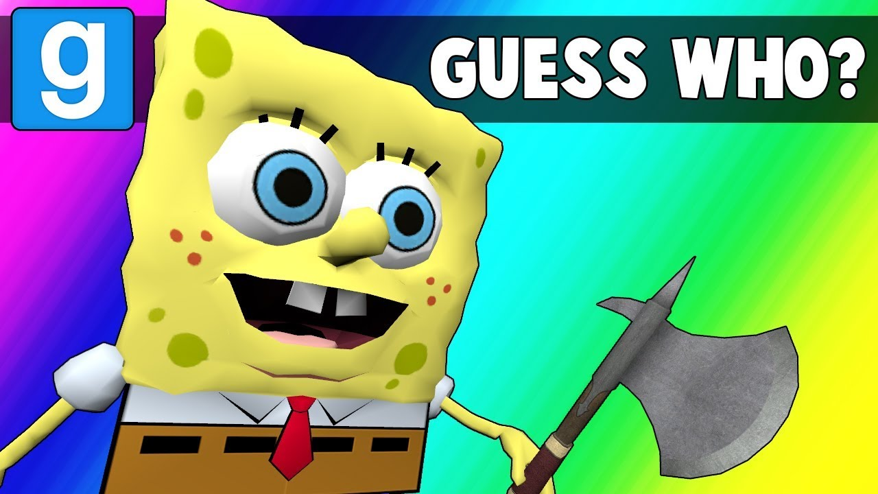 Gmod Guess Who Funny Moments - Krusty Krabs is Unstable (Garry's Mod)
