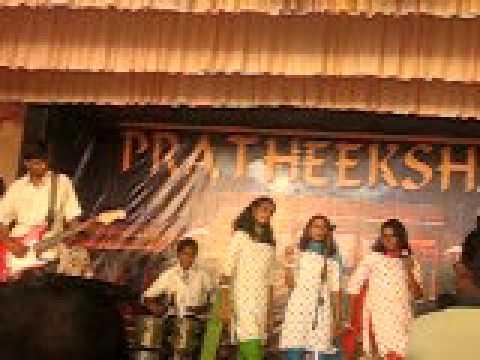 yeh jawani hai dewani song in pratheeksha by students of bhavans...