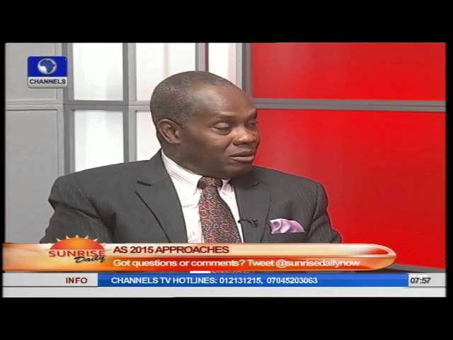Atiku/Buhari Declaration: Contest To Show Off Politicial Clout – Etomi Pt.2