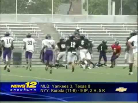 News 12 Sports Spotlight - ASA College Football (August 14, 2012)