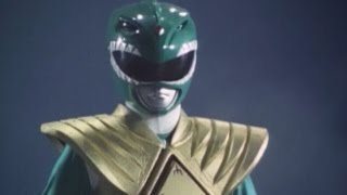 Green Ranger and Goldar vs the Megazord (Mighty Morphin Power Rangers)