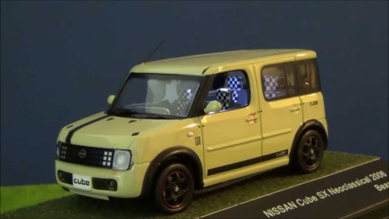 jcollection 1 43 nissan cube 2006 beans led tuning by mbw. Black Bedroom Furniture Sets. Home Design Ideas