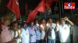 Bijili Bandh | AP Special Status Heat Continues In Vijayawada | Telugu news | hmtv