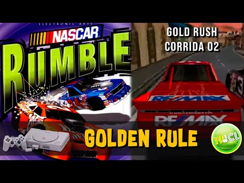 Nascar Rumble - Playstation1 - Corrida #2