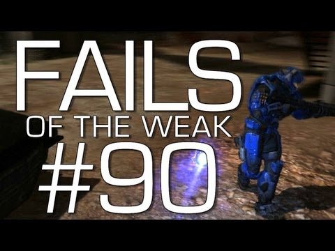 Halo: Reach - Fails of the Weak Volume 90! (Funny Halo Bloopers and Screw-Ups!)