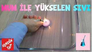 Mum İle Yükselen Sıvı - Kendin Yap - do it yourself