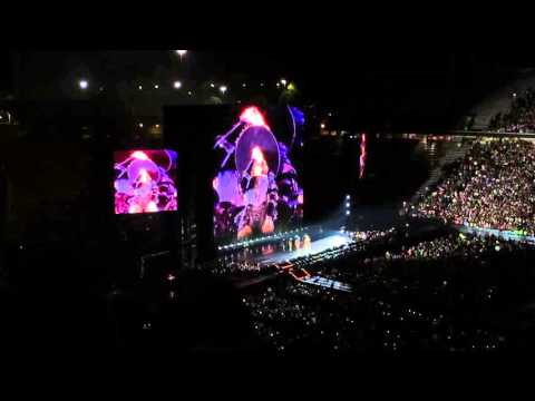 Beyonce show opening with Formation-Formation World Tour in Raleigh, NC-May 3, 2016