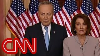 Nancy Pelosi, Chuck Schumer respond to Trump's speech