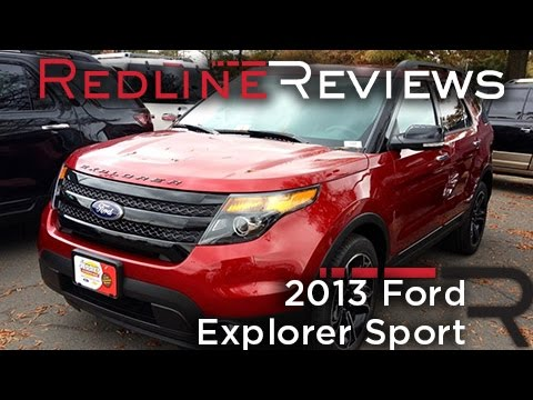 2013 Ford Explorer Sport Review. Walkaround. Exhaust. Test Drive