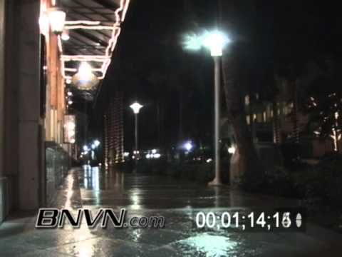 10/24/2005 Footage from Naples Florida as Hurricane Wilma approaches