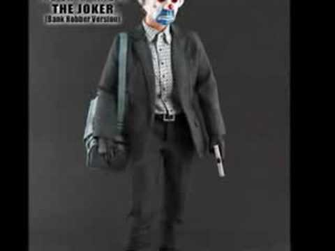 HOT TOYS- DARK KNIGHT JOKER BANK ROBBERY VERSION 12