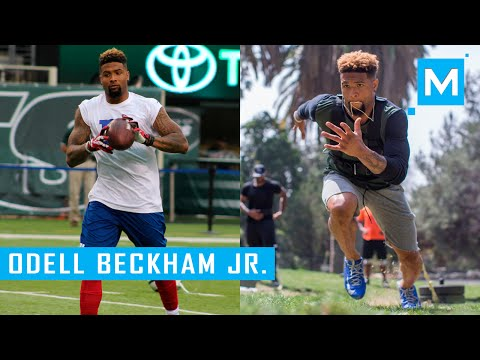 Odell Beckham Jr. Conditioning Training Drills for Football | Muscle Madness