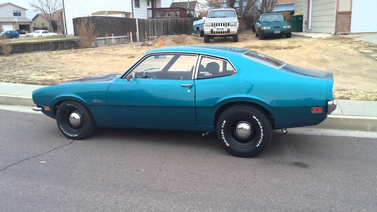 1970 Maverick V8 4 Speed Youtube