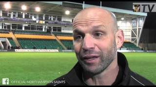 Saints boss Jim Mallinder reacts after the loss to Saracens | Rugby video Highlights