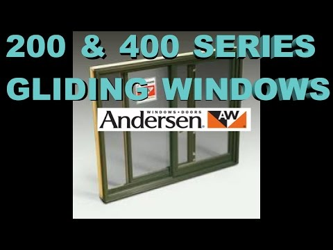 400 & 200 ANDERSON WINDOW SASH REPLACEMENT