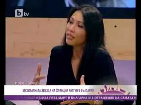Anggun Interview with Bulgaria television - Morning Show 01/03/2012