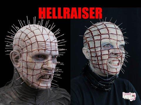 Maquiagem Do Pin Head Do Filme Hellraiser video