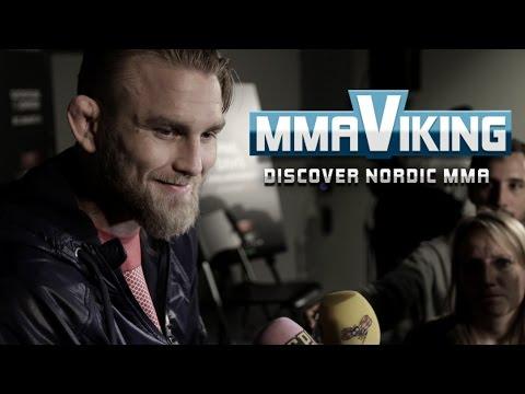 UFC Sweden 4 Alexander Gustafsson Pre Fight Interview