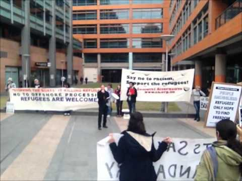 No Offshore Processing No Return to the Pacific Solution Rally video 8