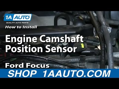 How To Install Replace Engine Camshaft Position Sensor 2.0L Ford Focus