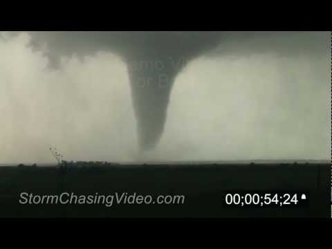 4/14/2012 Salina, KS tornado B-Roll Stock Footage