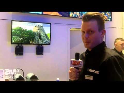 ISE 2016: Black Box Highlights MediaCento IPX USB 4K