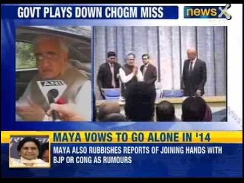 Can't attend CHOGM: Prime minister tells Lankan President, Khurshid to lead India - News X