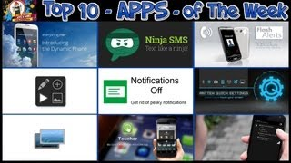 #201 APPS - Top 10 Best New Apps of The Week - Ninja Status Everything