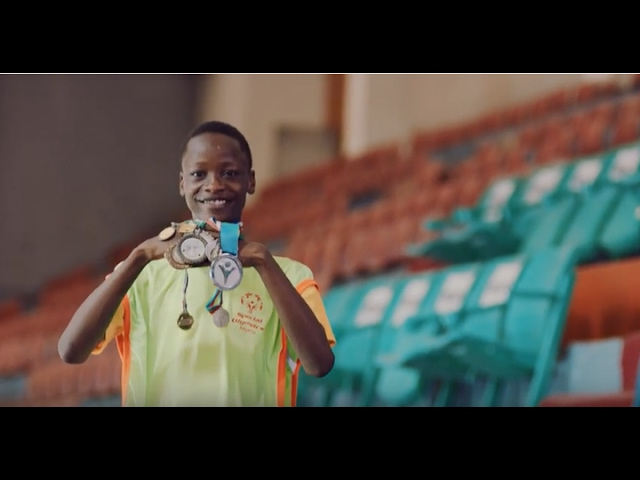 Special Olympics Nigeria: Marvellous Adewopo & Osa Seven Paint Mural Together