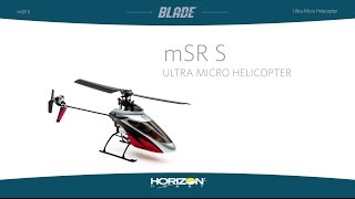 Blade® mSR S RTF & BNF with SAFE Technology