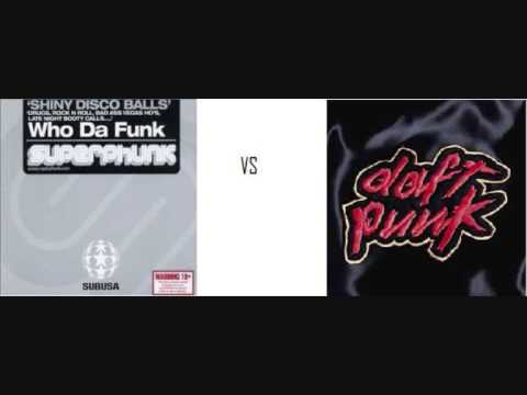 Daft Punk vs Who Da Funk Da Funky Disco Balls
