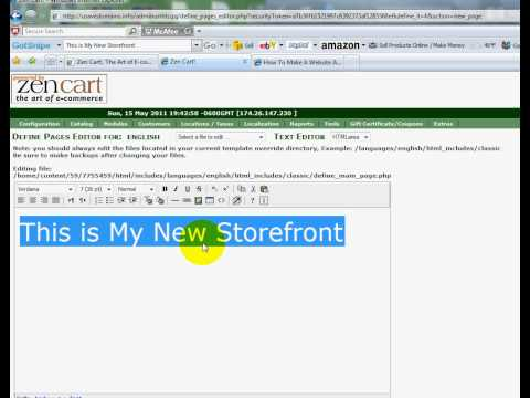 0 Zen Cart   How To Remove Sponsors Or Footer