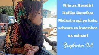 Safiri kuja Zanzibar kwa bei nafuu // Travel To Zanzibar on a budget    ZANZIBARIAN VLOGGER