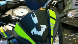 Honda CB Hornet 160 R stickers modify