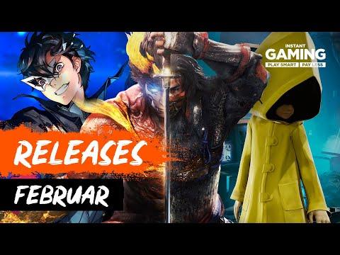 Neue Spiele im Februar 2021 - PC, PS5, Xbox & Switch