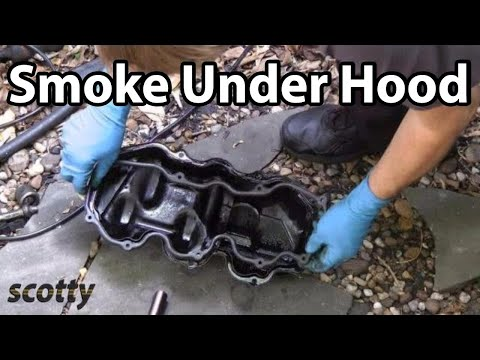 Fixing A Car That Smokes Under The Hood