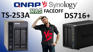 The Synology DS716+ vs The QNAP TS-253A-4G - The NAS faceoff of 2015