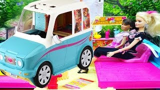 Barbie Ultimate Puppy Mobile Vehicle  Barbie ve köpekçikler Ada Macerası Karavanı