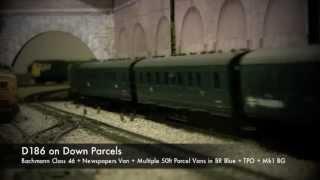 oorail.com | D186 on Down Parcels - OO Gauge Model Railways