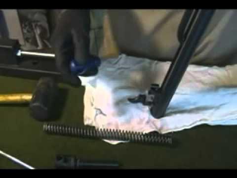 Como instalar GR e êmbolo aliviado na carabina CBC GII 4.5mm Montenegro Standard