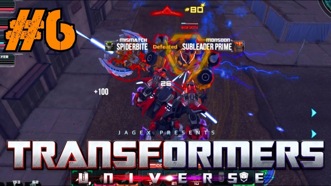 transformers universe beta gameplay ep 6 multiplayer elimination ownage with mismatch pc hd. Black Bedroom Furniture Sets. Home Design Ideas