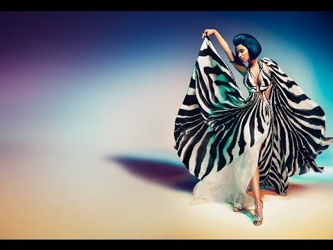 Nicki Minaj for Roberto Cavalli Spring/Summer 2015 Advertising Campaign