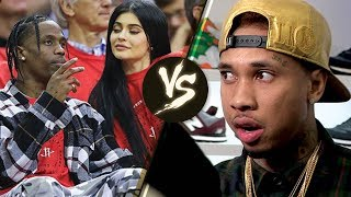 "Travis Scott Wants Tyga to ""STAY AWAY"" from Kylie Jenner AND Their Baby"