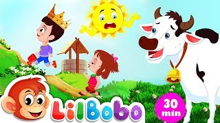 Jack and Jill went up the hill | Little BoBo Nursery Rhymes - Flickbox Kids Songs | Popular Playlist