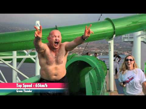 Carnival Spirit Waterslide Video Carnival Spirit's Green